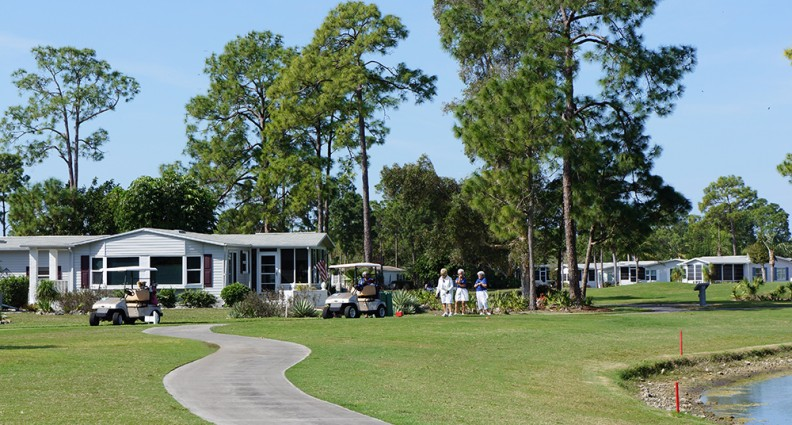 Pine Lakes Country Club Mobile Homes