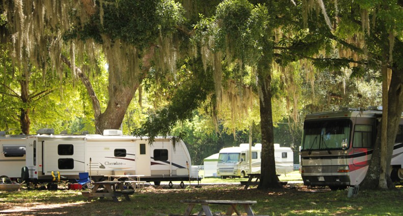 Bulow Plantation RV Resort Mobile Homes