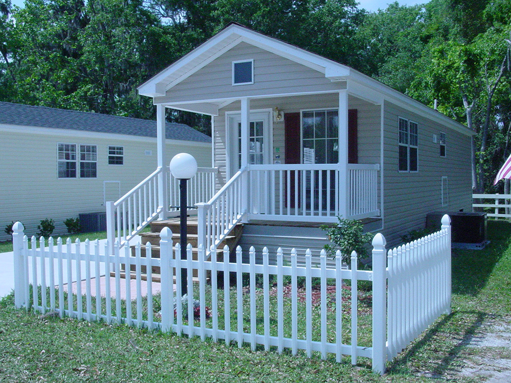 Bulow Plantation Retirement Mobile Home Community 55